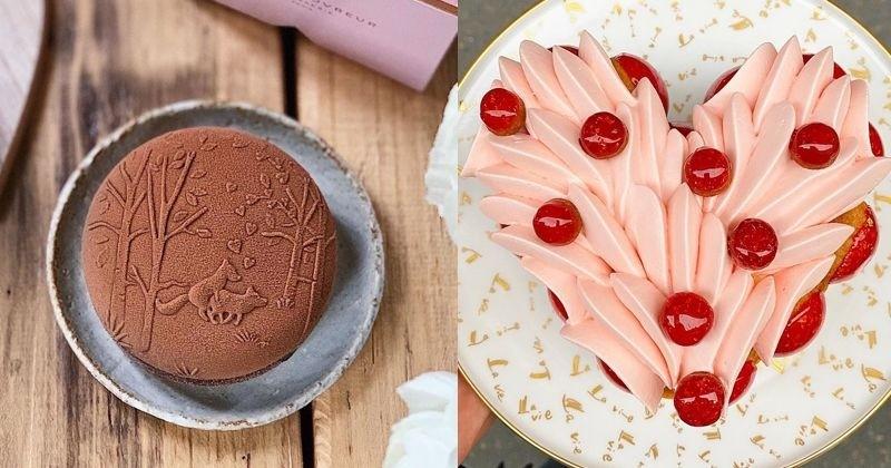 Les plus belles pâtisseries à offrir pour la Saint-Valentin !