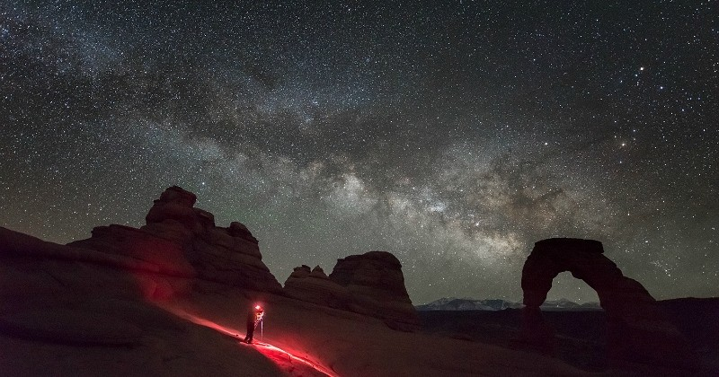 Fans de l'espace, on vous a trouvé le meilleur spot du monde pour observer les étoiles : et c'est pas (trop) loin !