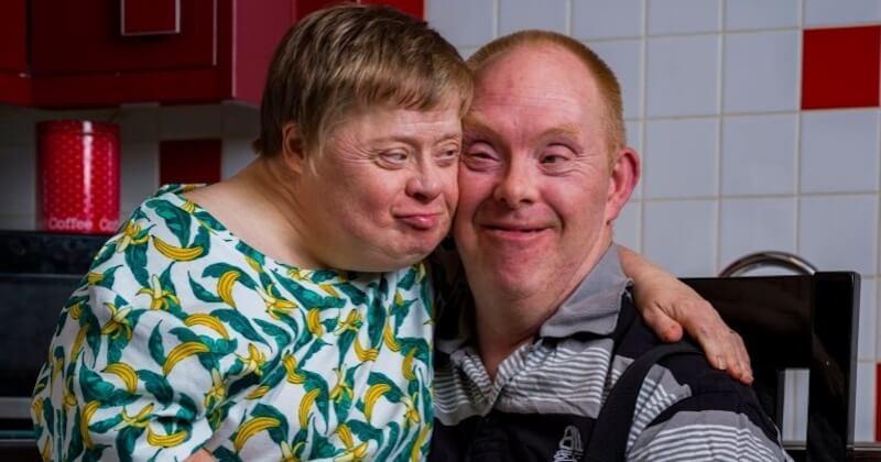 Ils forment le premier couple trisomique marié au monde et s'aiment comme au premier jour