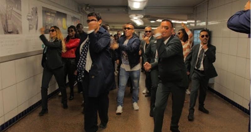 Les agents de la RATP rendent hommage à Maître Gims !