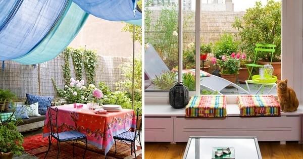 voil quelques id es pour personnaliser votre terrasse cet t et profiter pleinement des. Black Bedroom Furniture Sets. Home Design Ideas