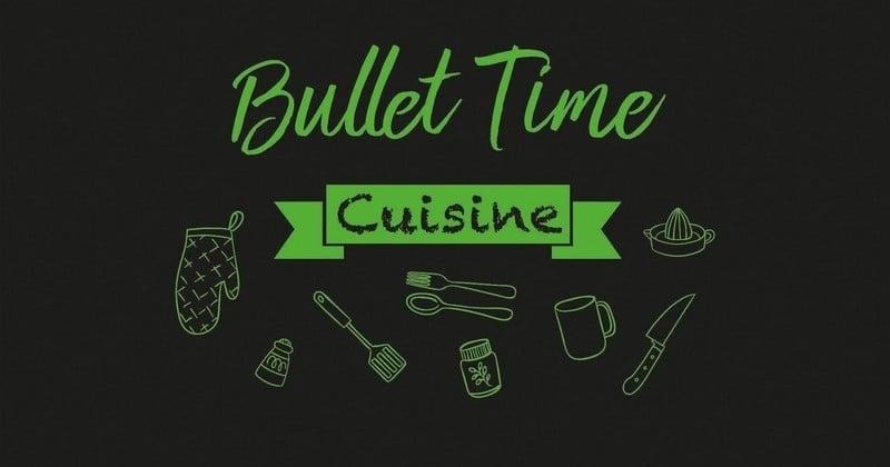 Bullet Time Cuisine: le carnet qu'il vous faut pour tenir vos résolutions food en 2018