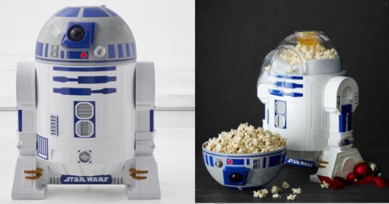 Faites votre propre pop corn grâce à R2D2 !
