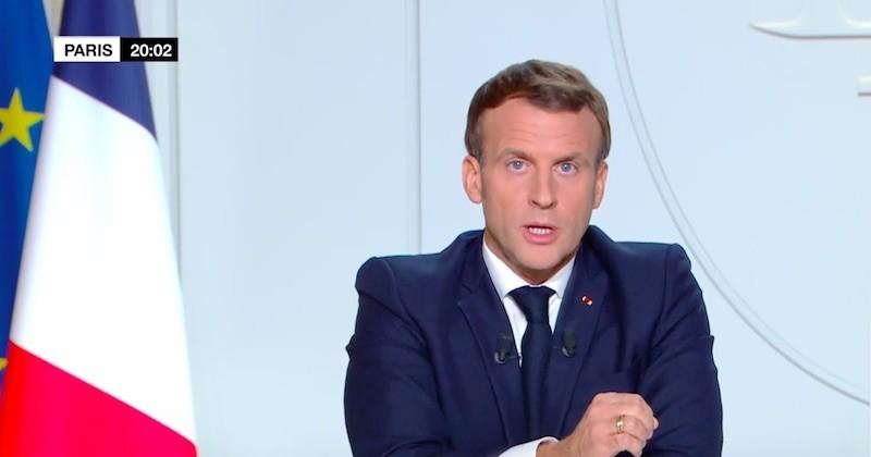 Covid-19 : Emmanuel Macron annonce un reconfinement général jusqu'au 1er décembre
