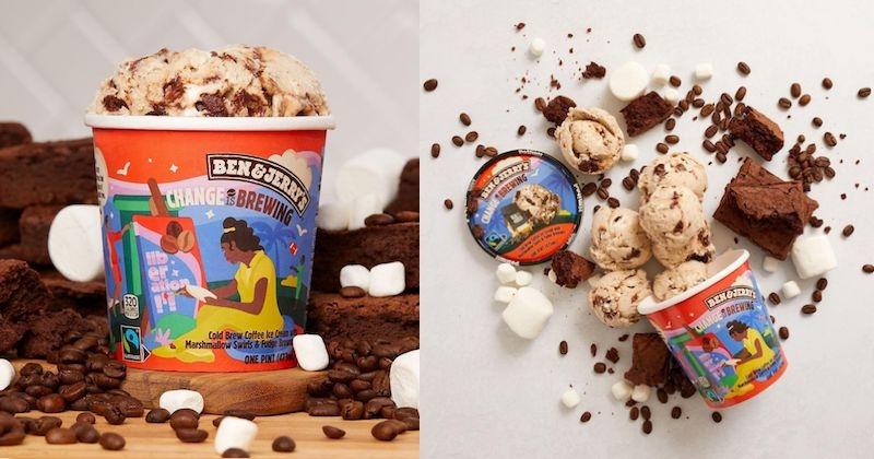 Ben & Jerry's lance une nouvelle saveur gourmande et engagée !