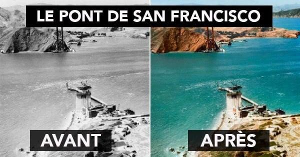 8 photos de monuments historiques colorisées de manière réaliste qui font paraître le passé incroyablement proche... L'Histoire, comme si vous y étiez !