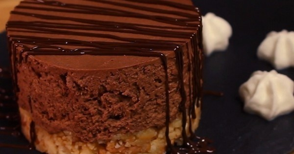 Le cheesecake au chocolat St Môret, tout simplement irrésistible !