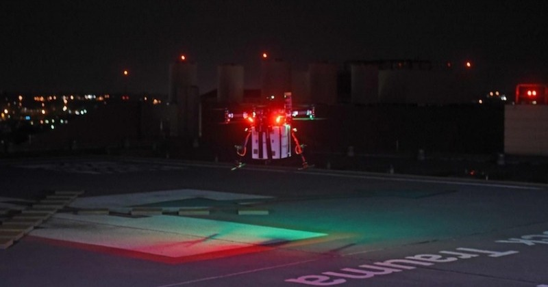 Un rein, destiné à être greffé sur une patiente, a été livré par un drone aux États-Unis, une première