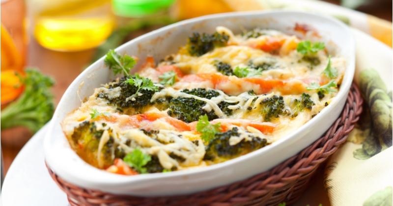 Testez notre gratin saumon brocoli !