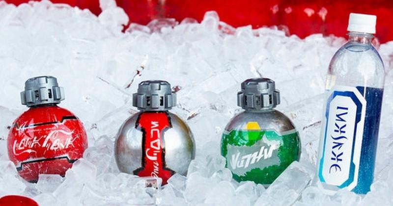 Découvrez les bouteilles de Coca-Cola version Star Wars dans les parcs Disney !