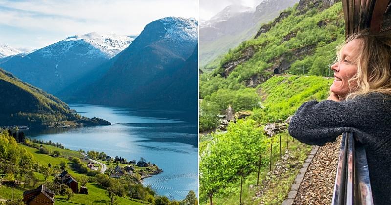 Norvège : ce train vous emmène jusqu'au cercle arctique pour un voyage magique de 11 jours
