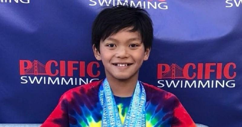 À seulement 10 ans, Clark Kent pulvérise un record de Michael Phelps