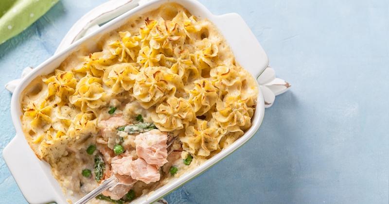 On adore le parmentier au saumon, une recette généreuse et gourmande, facile à réaliser à la maison !