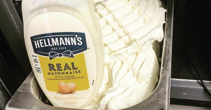 Une crème glacée à la mayonnaise, l'idée dingue qui remporte un succès fou !
