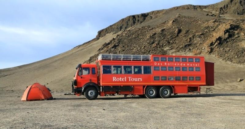 Les «Rotels», des camions-hôtels pour voyager sans limite et de façon autonome