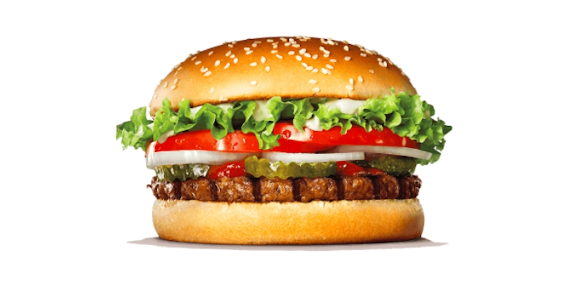 Burger King lance son Rebel Whopper sans viande de boeuf !