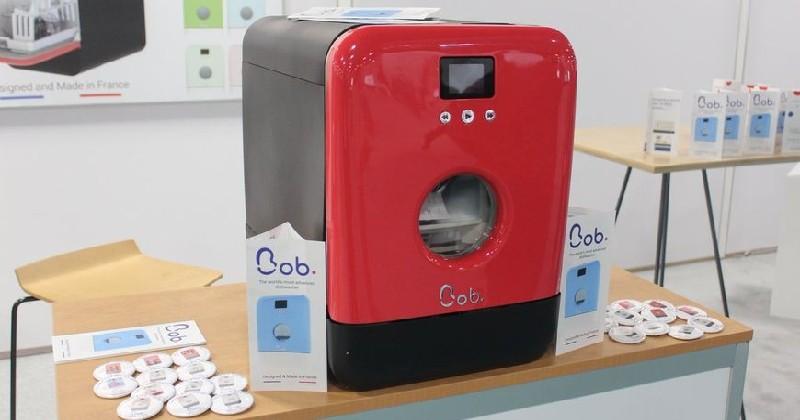 Bob, un lave-vaisselle qui fait office d'alternative écologique