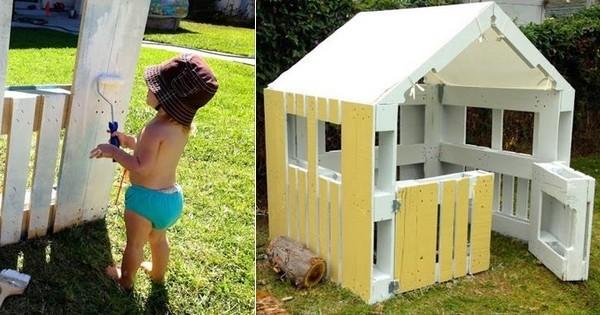 Diy Fabriquez Une Cabane Avec Des Palettes En Bois En 5 Etapes