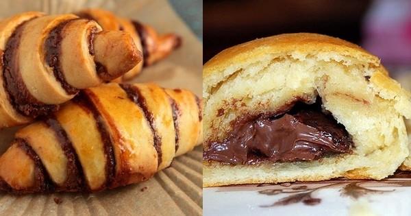 Réalisez des croissants au chocolat parfaits et DÉLICIEUX avec cette astuce qui vous sera très utile !