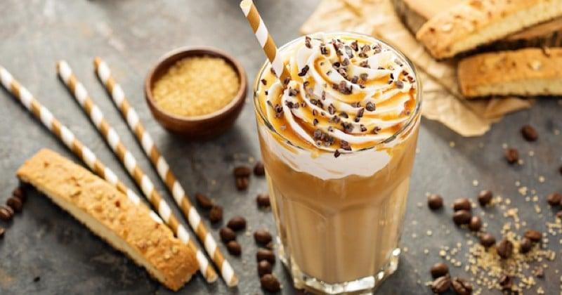 Révolutionnez votre pause café avec ce café latte de caramel glacé !