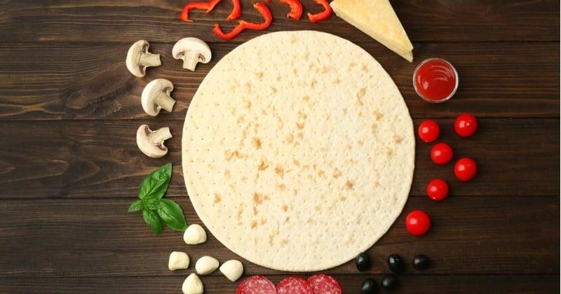 Pâte à pizza à l'italienne