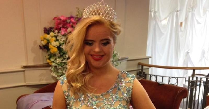 À 19 ans, Kate est la première trisomique à remporter un concours de beauté international
