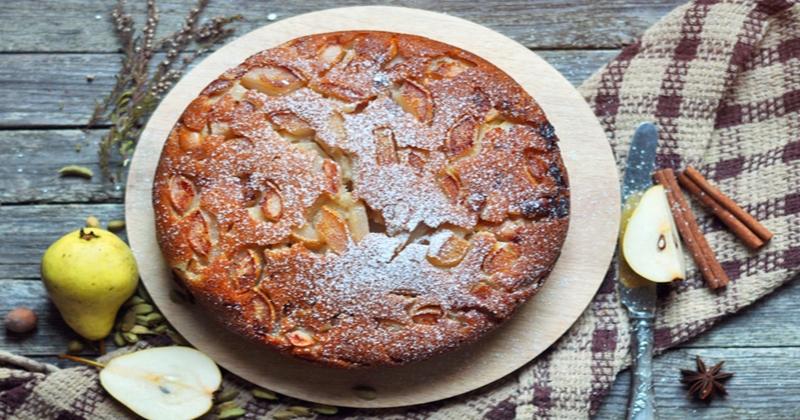 Gâteau poire épices