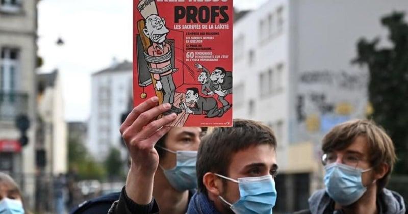 Un livre de caricatures religieuses et politiques sera distribué dans les lycées, pour défendre la liberté d'expression