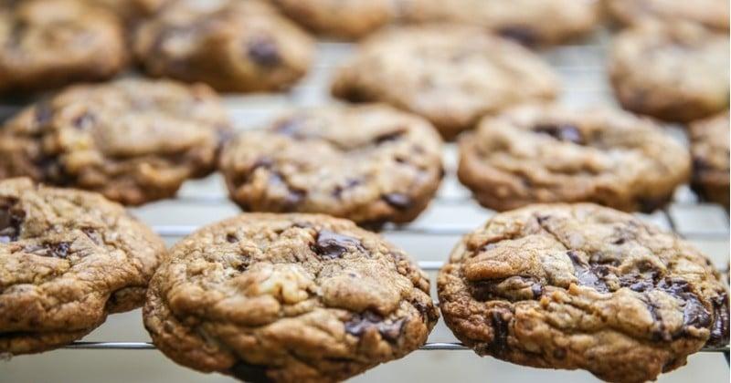 Cookies au chocolat et au beurre de cacahuètes à dévorer en toutes circonstances !
