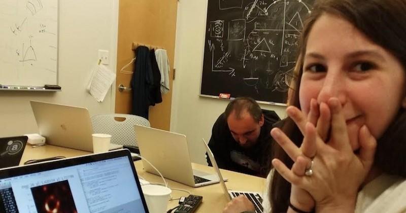 La révélation de la première photo d'un trou noir n'aurait jamais été possible sans une jeune femme diplômée du MIT