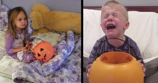 « J'ai dit à mes enfants que j'avais mangé tous leurs bonbons d'Halloween » : découvrez la traditionnelle et hilarante vidéo d'Halloween de Jimmy Kimmel !