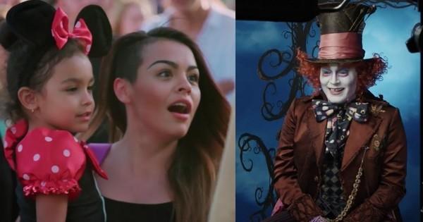 Déguisé, Johnny Depp surprend les fans dans un parc Disney !