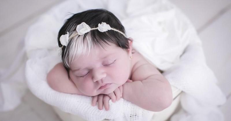 Au premier abord, ce bébé vous fera penser à Cruella d'Enfer !