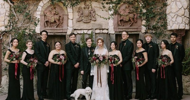 Ce couple s'est dit « oui » en organisant un mariage sur le thème de Harry Potter : magnifique !
