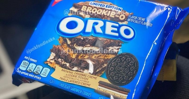 Oreo réinvente son biscuit avec une pâte à cookie goût brownies !