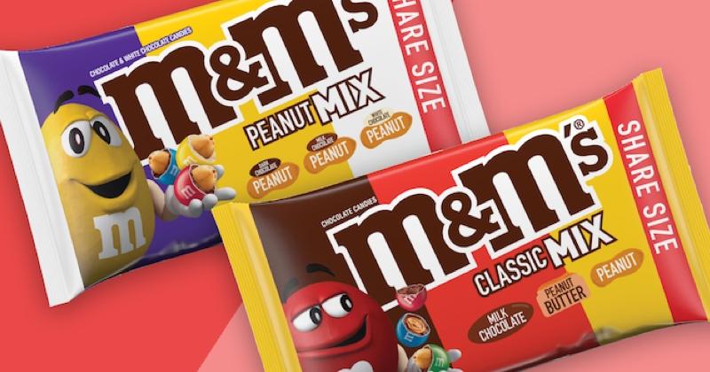 M&M's revient avec trois saveurs dans un paquet !