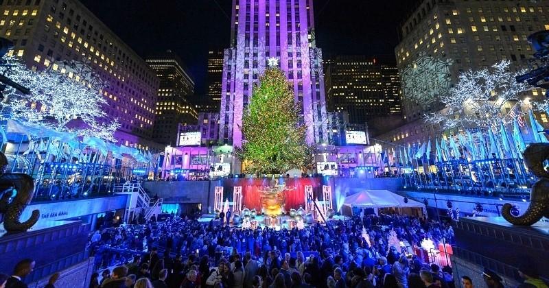 En voyage à New York ? Voici toutes les infos nécessaires pour assister à l'éclairage du célèbre sapin de Noël du Rockefeller Center