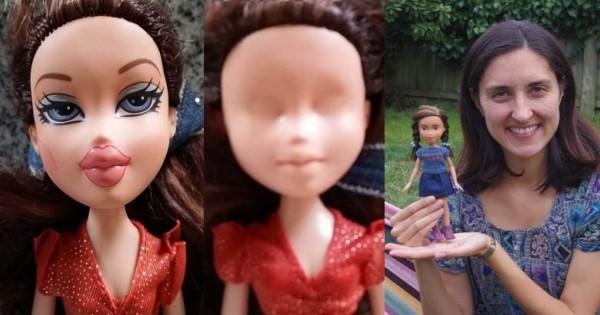 Une maman a décidé de libérer les poupées de l'hypersexualisation auxquelles elles sont soumises ! Découvrez comment elle s'y prend…
