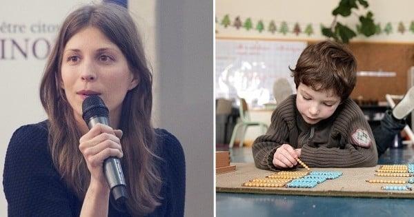Dans sa classe, ses enfants sont épanouis et savent lire dès 4 ans. Mais l'Education Nationale ne veut pas entendre parler d'elle et de ses méthodes
