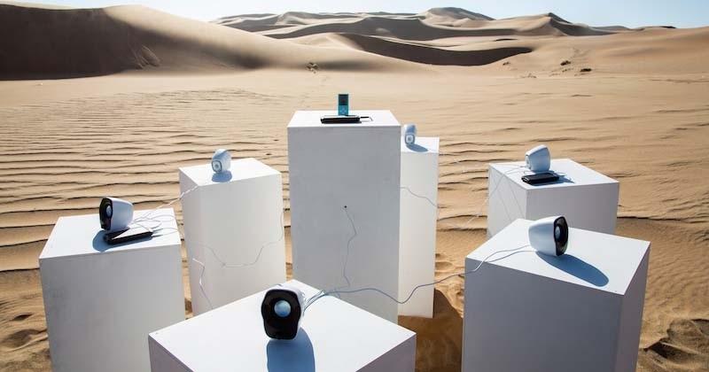 Le célèbre tube « Africa » de Toto diffusé éternellement dans... le désert du Namib