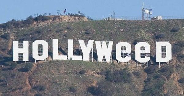 Au cours du passage à la nouvelle année, Hollywood est devenu... Hollyweed !
