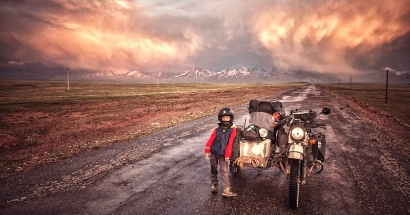 Ce couple a parcouru 26 000 kilomètres et traversé 12 pays pour montrer à son enfant de 6 ans la beauté du monde
