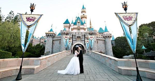 Réalisez votre rêve de petite fille en vous mariant à... Disneyland ! Ou quand le conte de fées devient ENFIN réalité