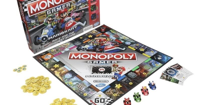 Vous pourrez désormais balancer des carapaces sur vos proches en jouant au Monopoly, avec le Monopoly Mario Kart!