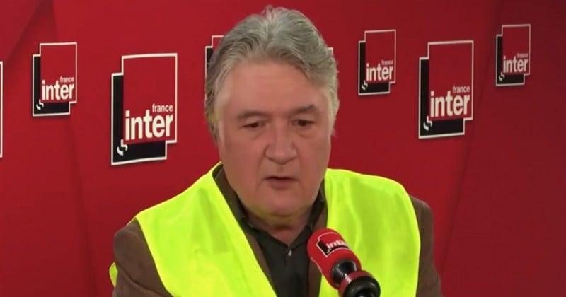 Le « gilet jaune » et fonctionnaire Jean-François Barnaba touche 2 600 € par mois alors qu'il ne travaille plus depuis 10 ans
