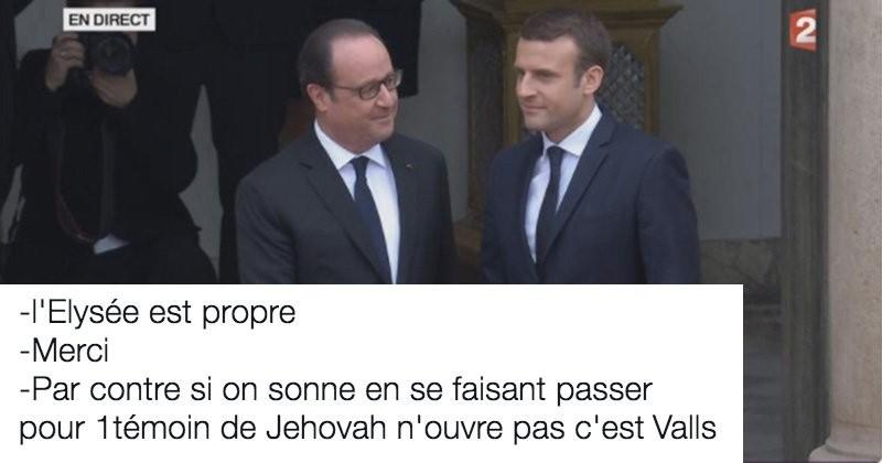 Twitter commente la passation de pouvoir et la cérémonie d'investiture d'Emmanuel Macron, et comme d'habitude, on a bien rigolé
