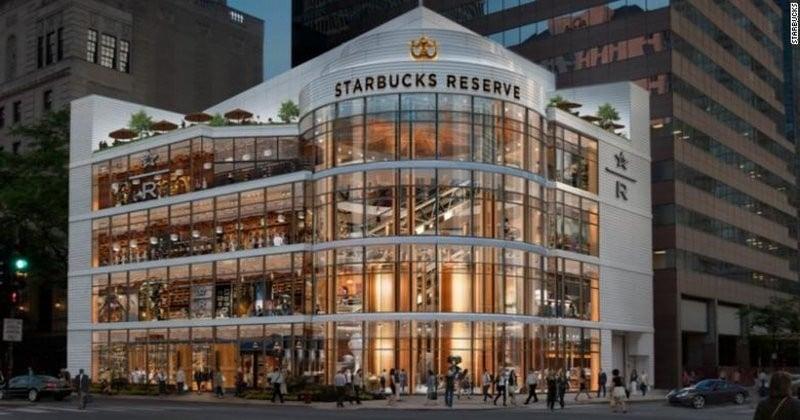 Le plus grand Starbucks du monde ouvrira ses portes à Chicago cet automne !