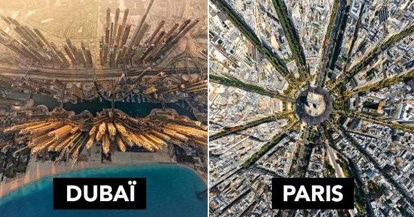19 villes du monde comme vous ne les avez jamais vues : les photos sont incroyables !