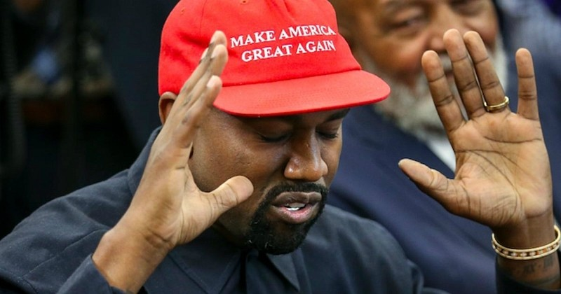 Kanye West annonce officiellement sa candidature à l'élection présidentielle 2020