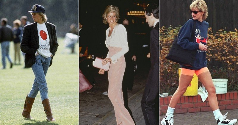 15 looks que l'avant-gardiste princesse Diana aurait pu porter sans problème en 2021